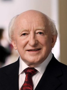 President Higgins was speaking as a part of DCU's 'Ethics for All' series